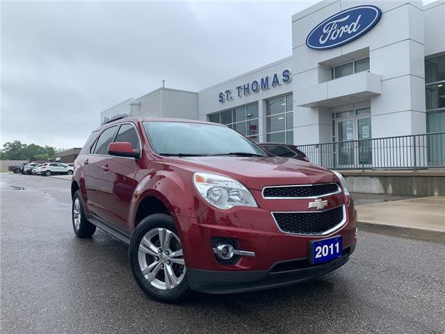 2011 Chevrolet Equinox 1LT (Stk: T0286A) in St. Thomas - Image 1 of 23