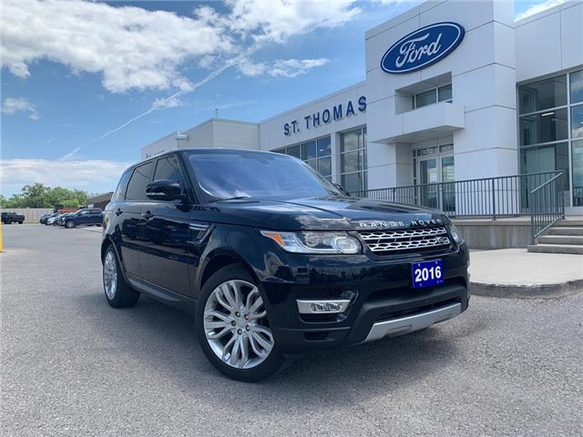2016 Land Rover Range Rover Sport DIESEL Td6 HSE (Stk: S0121A) in St. Thomas - Image 1 of 30