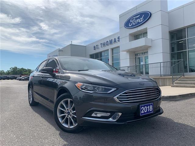 2018 Ford Fusion Energi Titanium (Stk: T0255B) in St. Thomas - Image 1 of 27