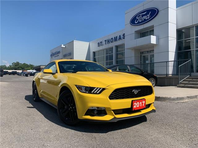 2017 Ford Mustang EcoBoost Premium (Stk: P6969A) in St. Thomas - Image 1 of 28
