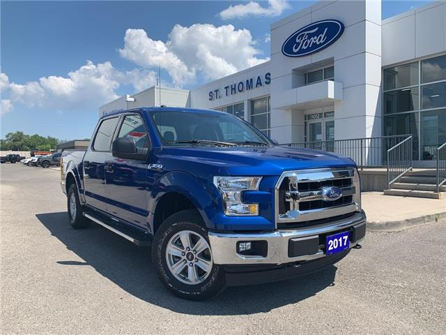 2017 Ford F-150 XLT (Stk: T0250A) in St. Thomas - Image 1 of 24