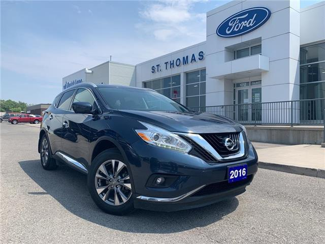 2016 Nissan Murano SL (Stk: S0341A) in St. Thomas - Image 1 of 30
