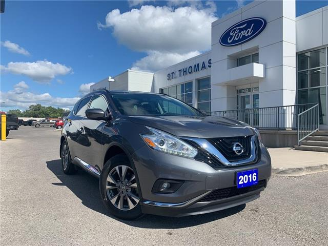 2016 Nissan Murano SV (Stk: S0361A) in St. Thomas - Image 1 of 27