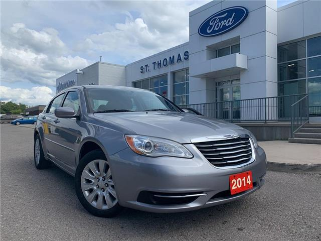 2014 Chrysler 200 LX (Stk: S0160A) in St. Thomas - Image 1 of 24
