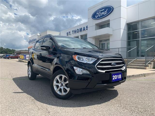 2018 Ford EcoSport SE (Stk: S0327B) in St. Thomas - Image 1 of 27