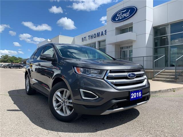 2016 Ford Edge SEL (Stk: S0058A) in St. Thomas - Image 1 of 30