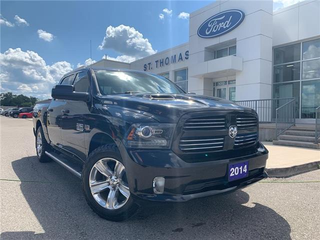 2014 RAM 1500 Sport (Stk: T0171A) in St. Thomas - Image 1 of 27
