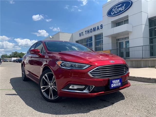 2018 Ford Fusion Titanium (Stk: S0063B) in St. Thomas - Image 1 of 28