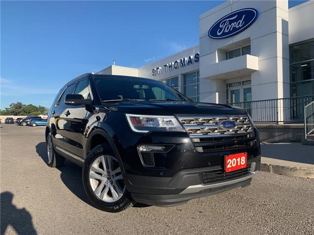 2018 Ford Explorer XLT (Stk: T0425A) in St. Thomas - Image 1 of 30