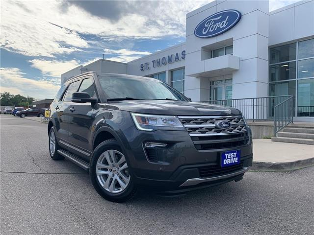 2018 Ford Explorer XLT (Stk: T0293D) in St. Thomas - Image 1 of 28