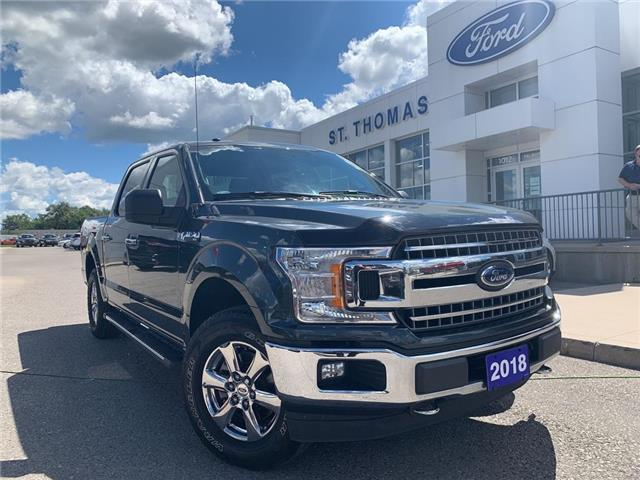 2018 Ford F-150 XLT (Stk: T0409A) in St. Thomas - Image 1 of 24