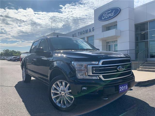 2019 Ford F-150 Limited (Stk: T0453A) in St. Thomas - Image 1 of 30