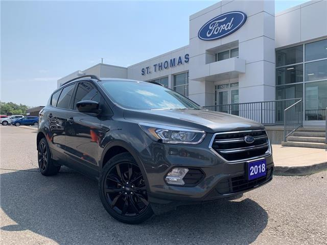 2018 Ford Escape SE (Stk: S0452A) in St. Thomas - Image 1 of 24