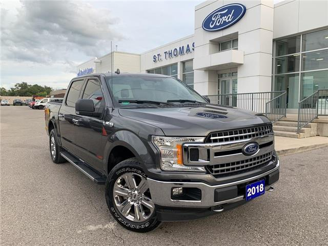 2018 Ford F-150 XLT (Stk: T0486A) in St. Thomas - Image 1 of 26