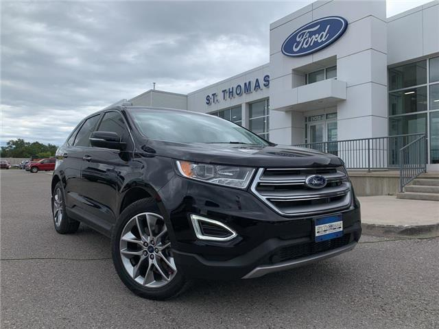 2018 Ford Edge Titanium (Stk: T0438A) in St. Thomas - Image 1 of 30