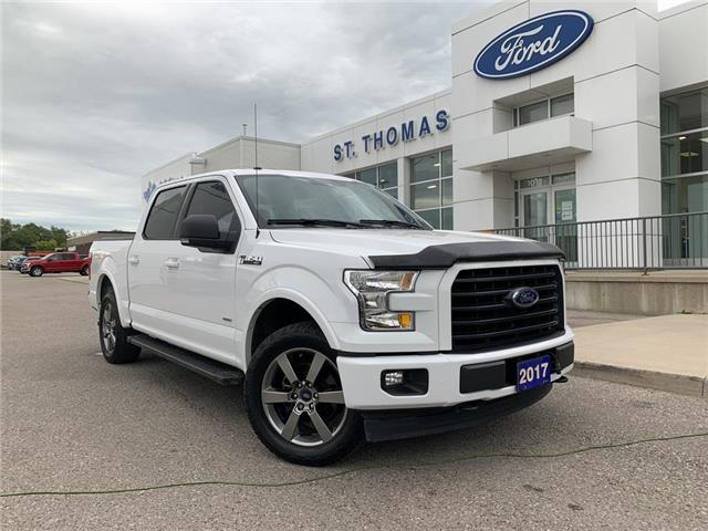 2017 Ford F-150 XLT (Stk: T0490A) in St. Thomas - Image 1 of 27