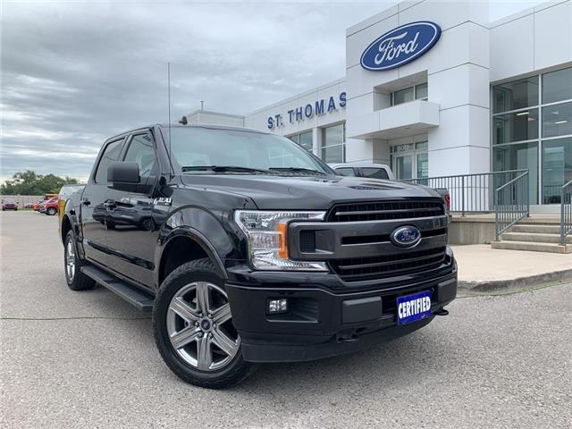 2018 Ford F-150 XLT (Stk: T0507A) in St. Thomas - Image 1 of 27