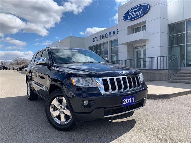 2011 Jeep Grand Cherokee Limited (Stk: S0172A) in St. Thomas - Image 1 of 29