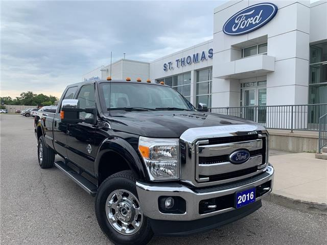 2016 Ford F-350 Lariat (Stk: T0398A) in St. Thomas - Image 1 of 29