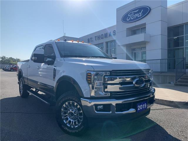 2019 Ford F-250 Lariat (Stk: T0524A) in St. Thomas - Image 1 of 30