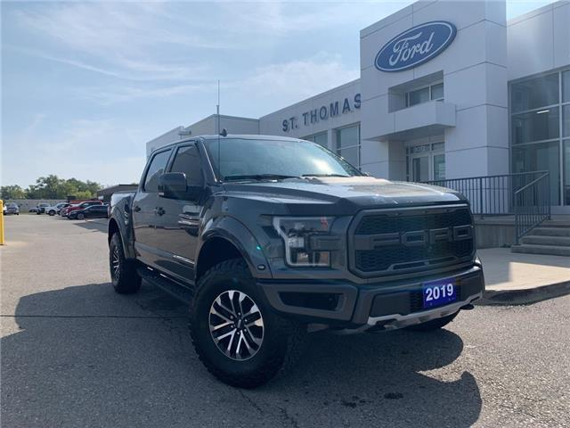 2019 Ford F-150 Raptor (Stk: T0512A) in St. Thomas - Image 1 of 29