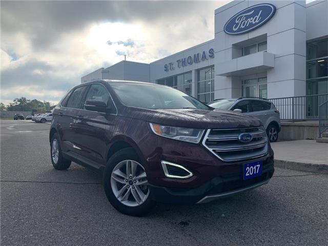 2017 Ford Edge SEL (Stk: S0502A) in St. Thomas - Image 1 of 26