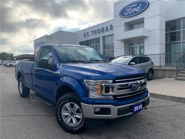 2018 Ford F-150 XLT (Stk: T0518A) in St. Thomas - Image 1 of 21