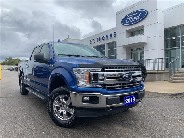 2018 Ford F-150 XLT (Stk: T0549A) in St. Thomas - Image 1 of 27