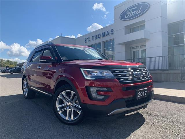 2017 Ford Explorer Limited (Stk: S0540A) in St. Thomas - Image 1 of 30
