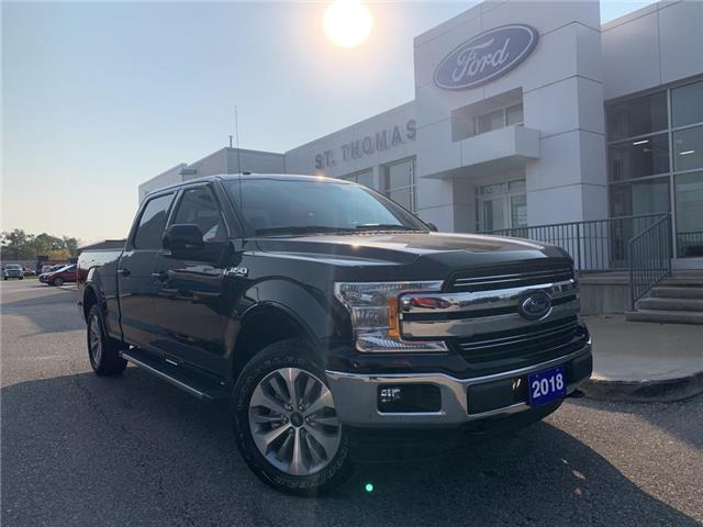 2018 Ford F-150 Lariat (Stk: T0473A) in St. Thomas - Image 1 of 27