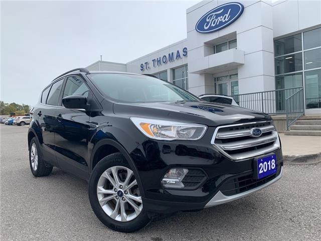 2018 Ford Escape SE (Stk: S0027A) in St. Thomas - Image 1 of 24