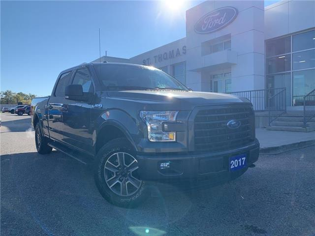 2017 Ford F-150 XLT (Stk: T0582A) in St. Thomas - Image 1 of 27
