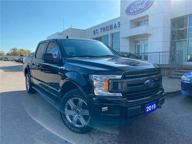 2019 Ford F-150 XLT (Stk: T0521A) in St. Thomas - Image 1 of 28