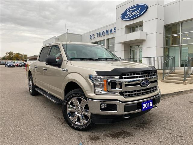 2018 Ford F-150 XLT (Stk: S0589A) in St. Thomas - Image 1 of 29