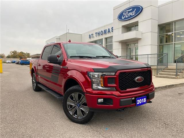 2018 Ford F-150 XLT (Stk: T0631A) in St. Thomas - Image 1 of 28