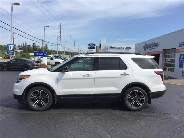 2014 Ford Explorer Sport (Stk: XC0601) in Sault Ste. Marie - Image 1 of 8