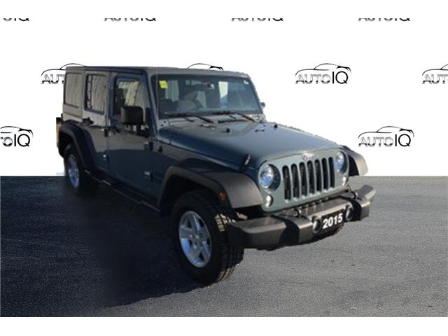 2015 Jeep Wrangler Unlimited Sport Grey