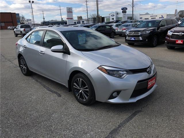 2016 Toyota Corolla LE (Stk: CP9812) in Chatham - Image 1 of 18