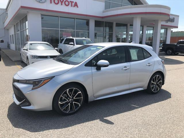 2019 Toyota Corolla Hatchback Base (Stk: 41351) in Chatham - Image 1 of 8