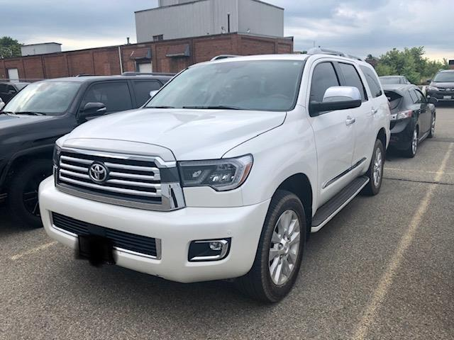 2020 Toyota Sequoia Platinum (Stk: 42133) in Chatham - Image 1 of 1