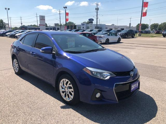 2015 Toyota Corolla S (Stk: CP10000) in Chatham - Image 1 of 10