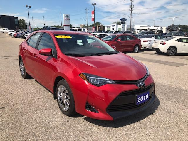 2018 Toyota Corolla  (Stk: CP9770) in Chatham - Image 1 of 13