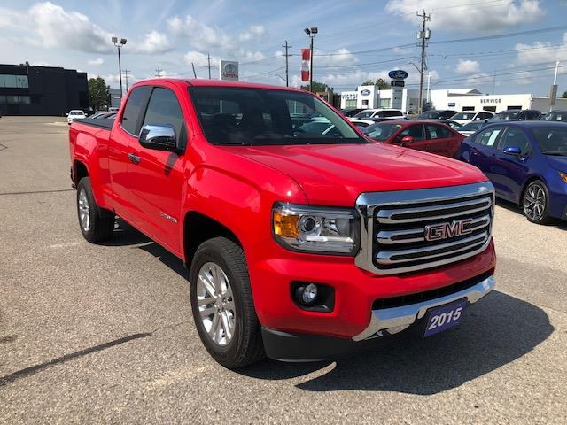 2015 GMC Canyon SLT (Stk: CP10135) in Chatham - Image 1 of 14