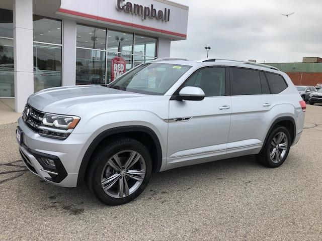 2019 Volkswagen Atlas 3.6 FSI Highline (Stk: CP10150) in Chatham - Image 1 of 15