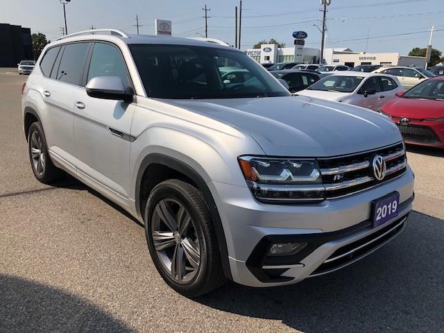 2019 Volkswagen Atlas 3.6 FSI Highline (Stk: ) in Chatham - Image 1 of 12