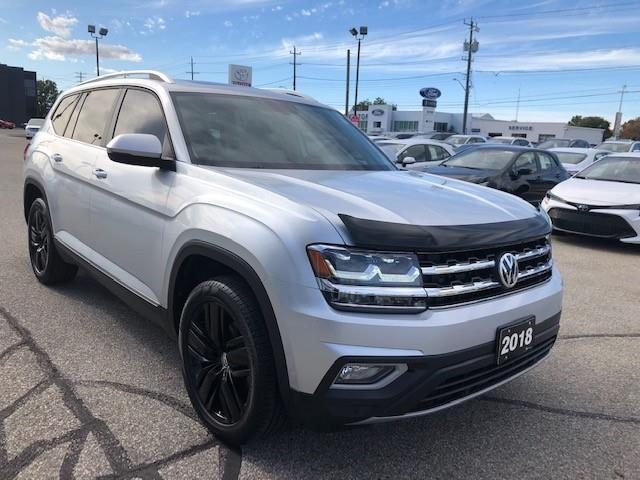 2018 Volkswagen Atlas 3.6 FSI Highline (Stk: CP10216) in Chatham - Image 1 of 15