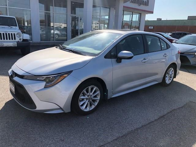 2020 Toyota Corolla LE (Stk: ) in Chatham - Image 1 of 7