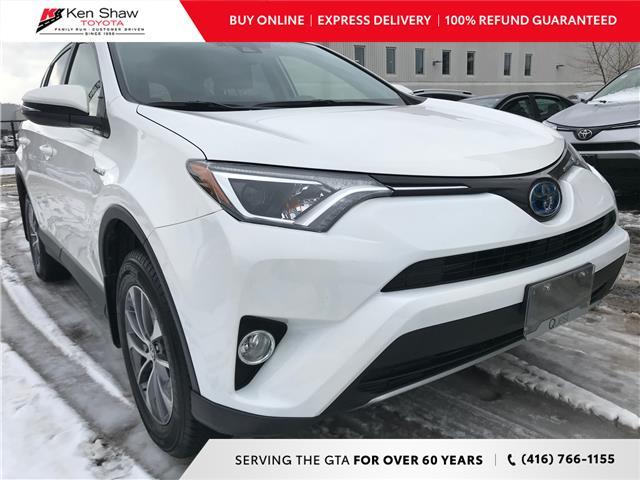 2018 Toyota RAV4 Hybrid LE+ (Stk: 16843A) in Toronto - Image 1 of 28
