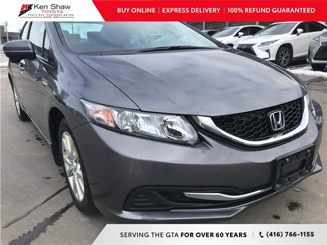2015 Honda Civic EX (Stk: 16761AB) in Toronto - Image 1 of 28