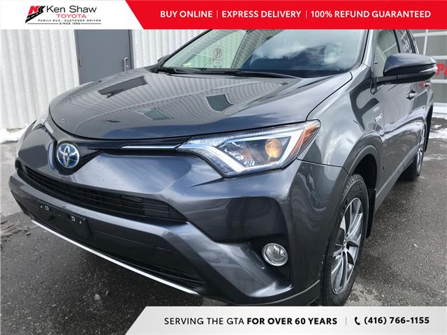 2018 Toyota RAV4 Hybrid LE+ (Stk: 16870A) in Toronto - Image 1 of 22